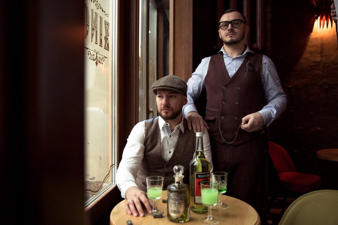 Совладельцы бара Gin Tonic