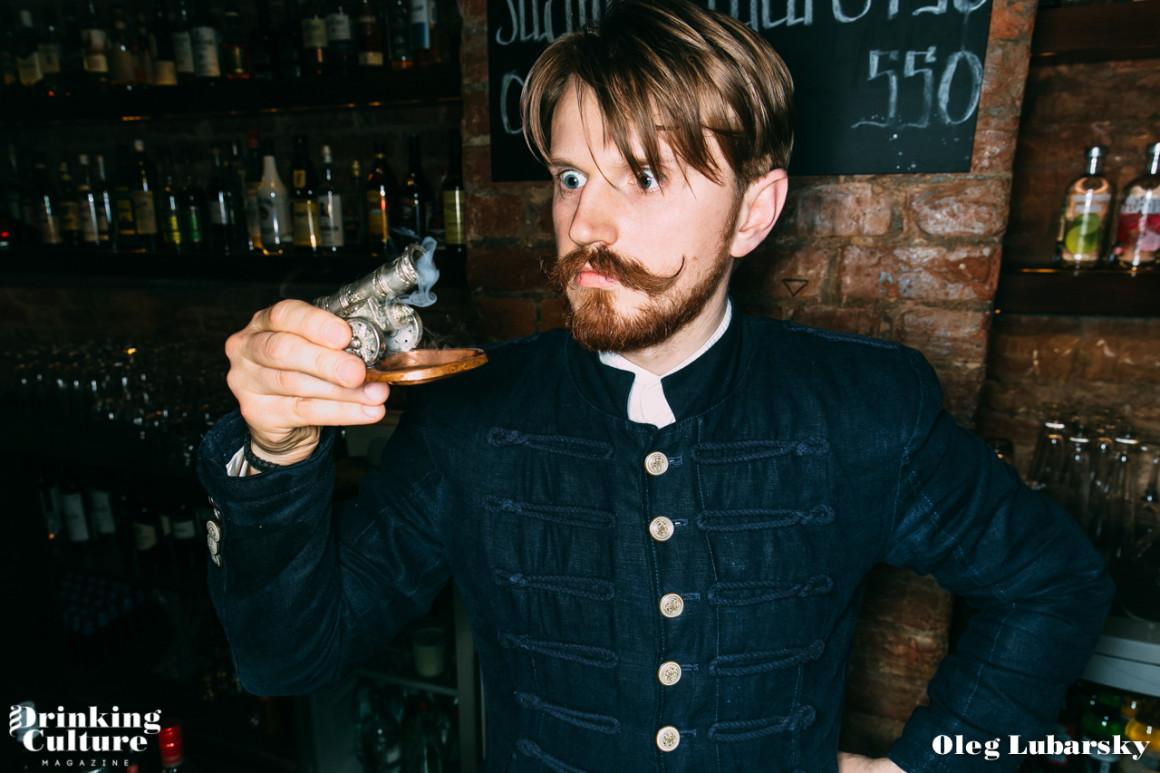 bartender Max Shirokov