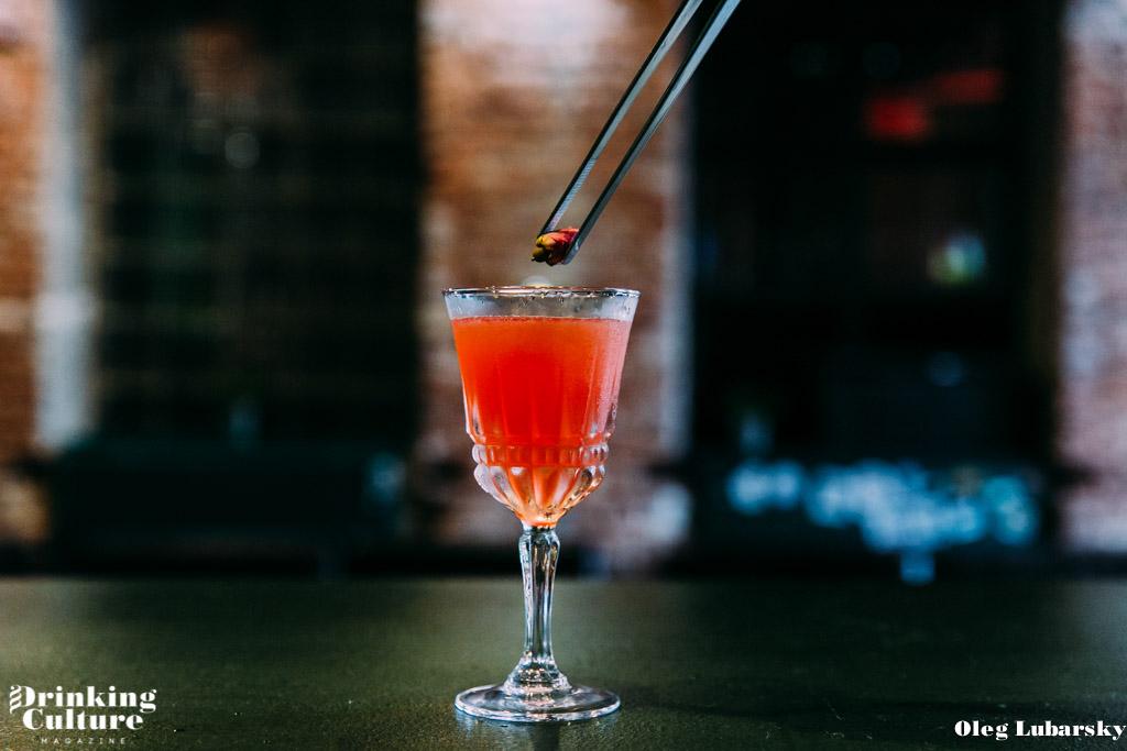 huligan bar minsk cocktail berry beet-8