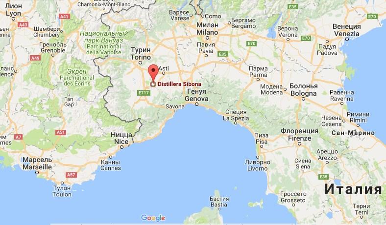 итальянская граппа, Sibona