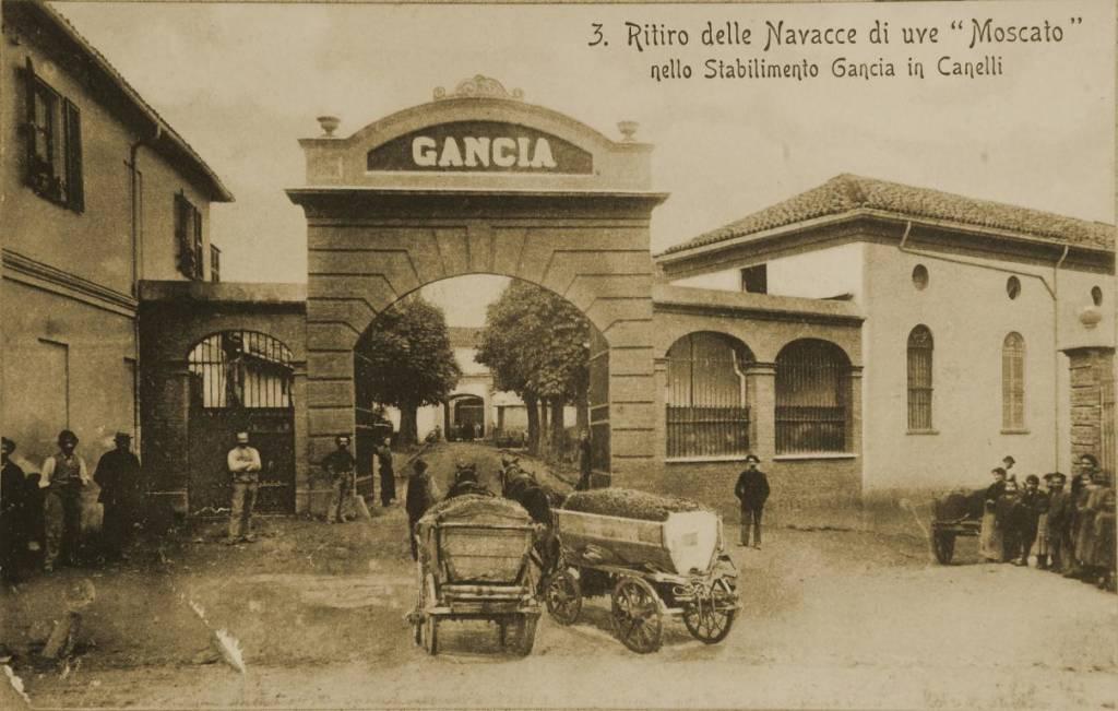 Gancia entrance old postcard